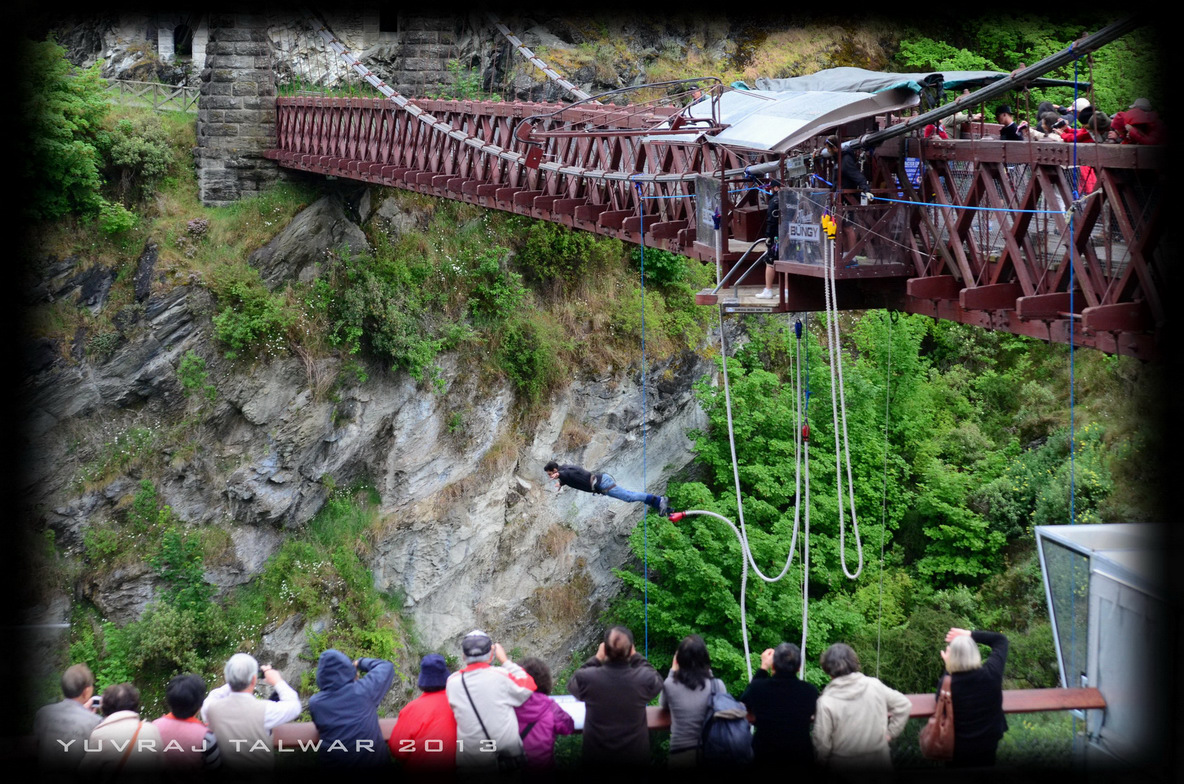 Bungy Jumping in Queenstown NewZealand