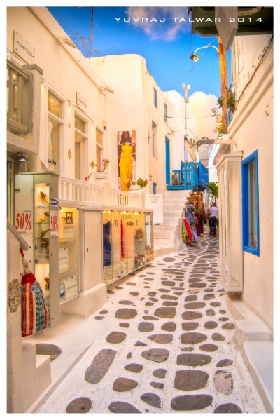 The streets of Chora