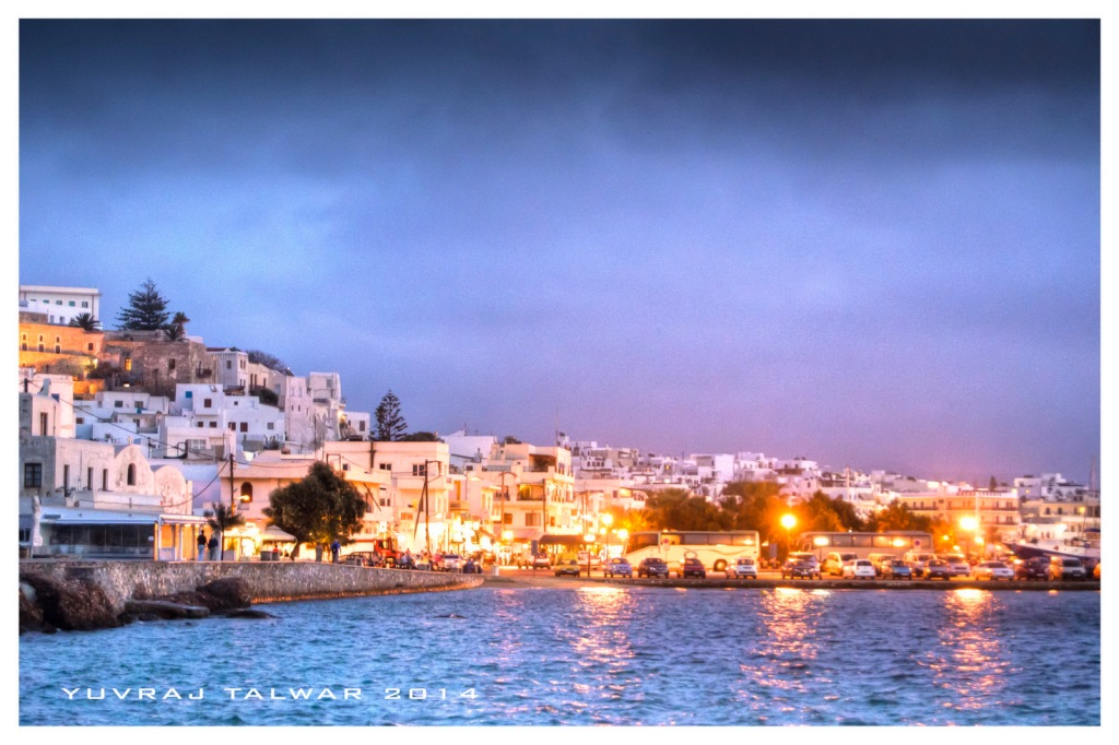 The main town of Naxos