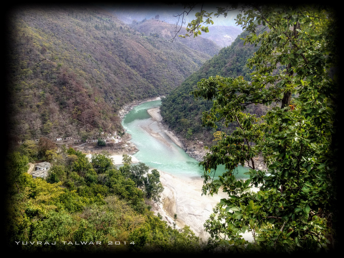 The Confluence of Saryu and Kali