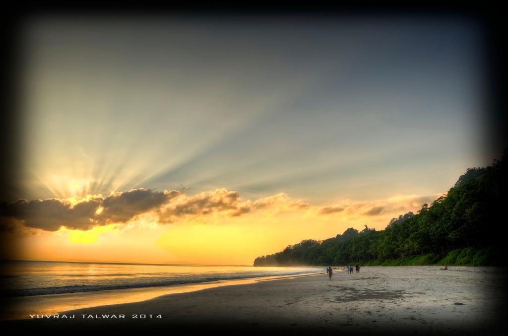 Radha Nagar Beach - Voted one of top ten beaches in Asia.