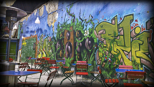 Kuplung - mind-boggling graffiti